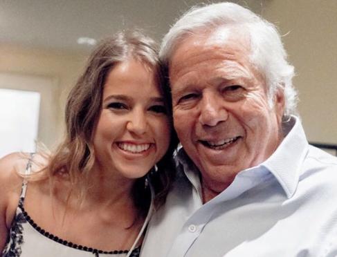 Who is Robert Kraft's Granddaughter Kathryn Kraft