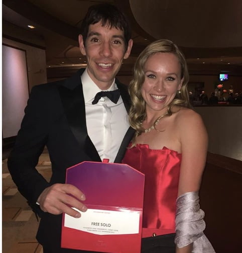 "Alex Honnold's Girlfriend Cassandra ""Sanni"" McCandless"
