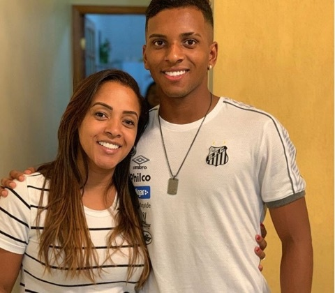 Real Madrid Rodrygo's Mother Denise Goes