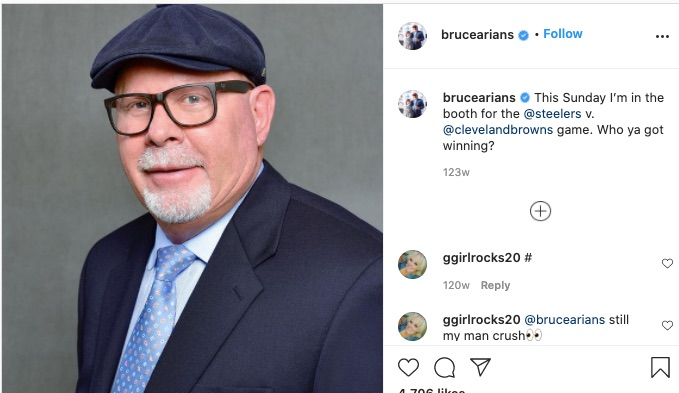 Christine Arians,Bruce Arians Wife,Bruce Arians hats,Bruce Arians