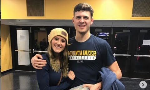 West Virginia Chase Harler's Girlfriend Lindsey Baker