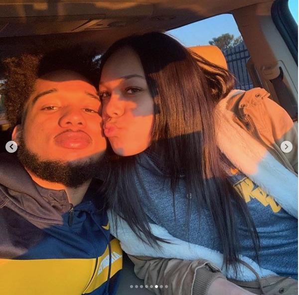 Kenny Robinson Jr's Girlfriend Rajah Pitts