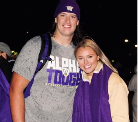 Trey Adams' Girlfriend Ally Bonnett