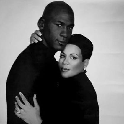 Michael Jordan ex wife Juanita Vanoy Jordan