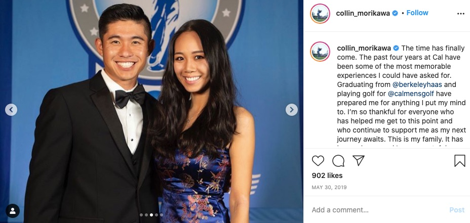 Meet Collin Morikawa's Girlfriend Katherine Zhu