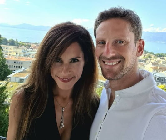 Meet Romain Grosjean's Wife Marion Jolles Grosjean
