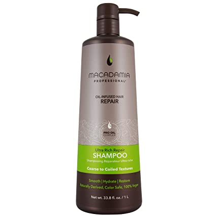 Ultra Rich Moisture Shampoo by Macadamia Professional