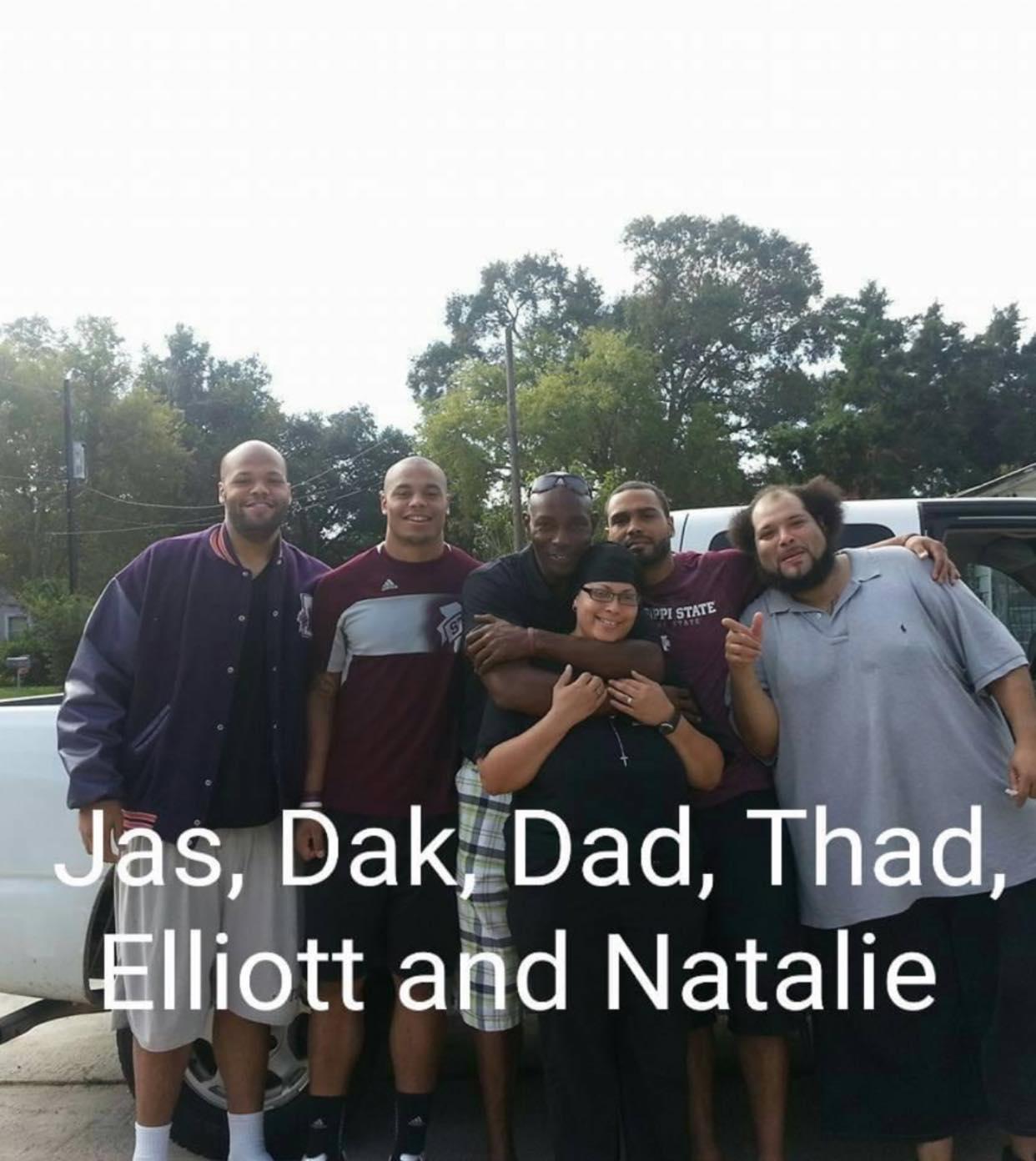 Dak Prescott family