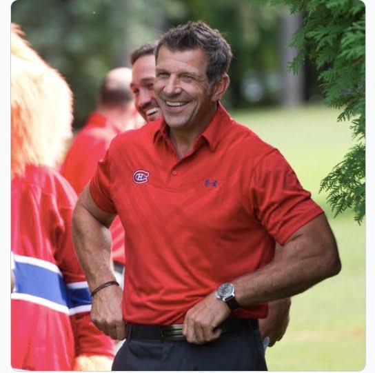 Marc Bergevin Biceps
