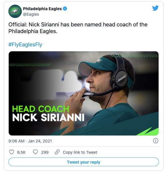 Nick Sirianni
